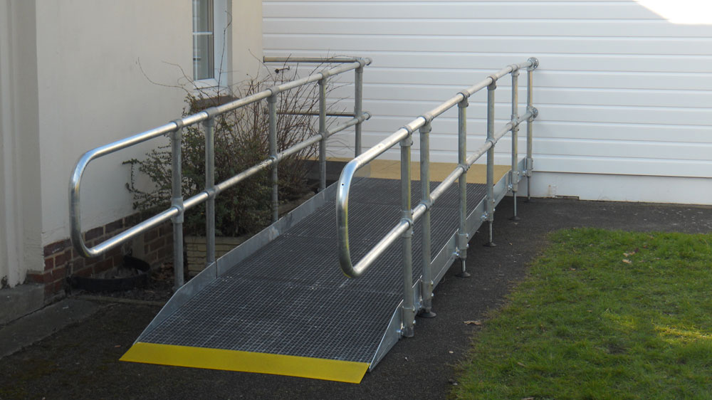 1200mm modular public access ramp system preferred access ramp