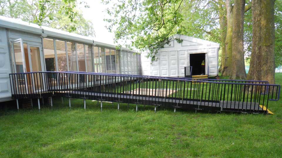 Marquee & Portable Cabin Access