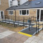 1800/2250mm Modular Public Access Ramp System